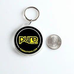 Round Custom Keychain