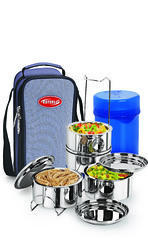 Esteelo Fortune -4 Stainless Steel Insulated Tiffin (250 ml)