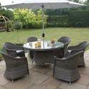 Garden Rattan Table Set