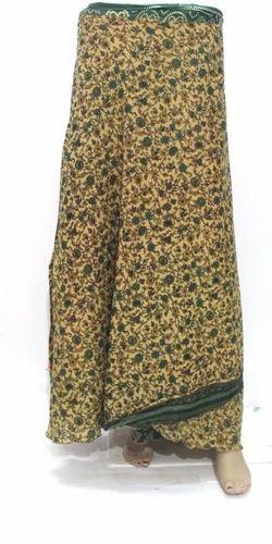 26b94cc5ccaf Vintage Silk Magic Long Wrap Halter Tube Skirt, Width: 50 Inches, Rs ...
