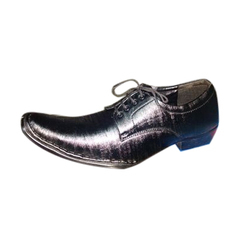 Synthetic Leather Formal Shoes, Size: 7 and 8
