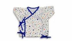 Girl & Boy Unisex White Tie String Shirt/Bandi