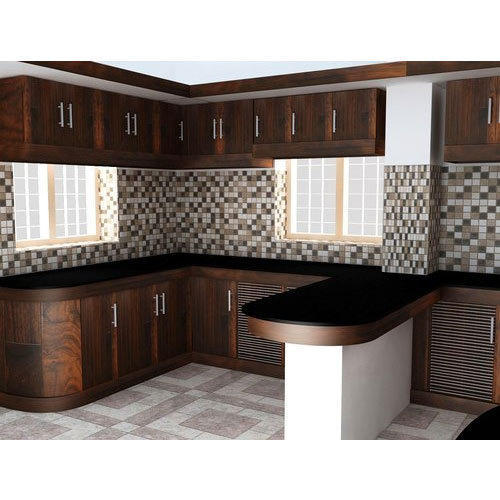 Kitchen Cabinets And Flower