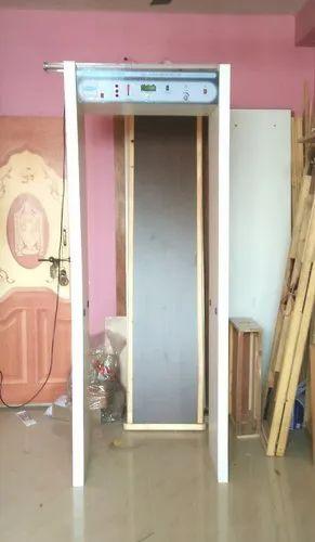 Security Door Metal Detector Single Zone Door Frame