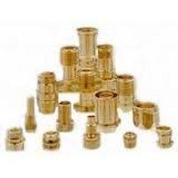 Precision Turned Components, For Industrial, Round