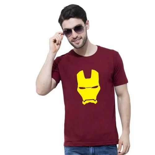 cd8c83a6 Promotional T-Shirts - Customized Unisex Half Sleeve Poly Cotton I Love  Indian Army Printed T Shirt Manufacturer from New Delhi