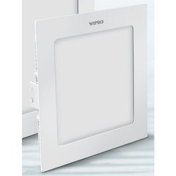 Wipro Garnet Warm White 3 W Slim Square Panel Light