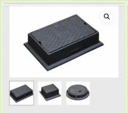 Rectangular 4-Way CI Surface Box
