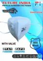 Future India N95 Mask With Valve, Number Of Layers: 5 Layers