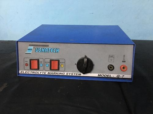 Usha Tech Electrolyte Marking Machine