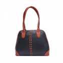 Plain And Printed Shoulder Hand Ladies Leather Bags