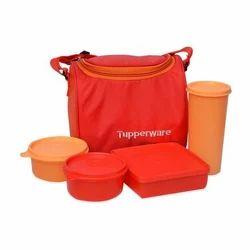 Tupperware Plastic Lunch Box Set