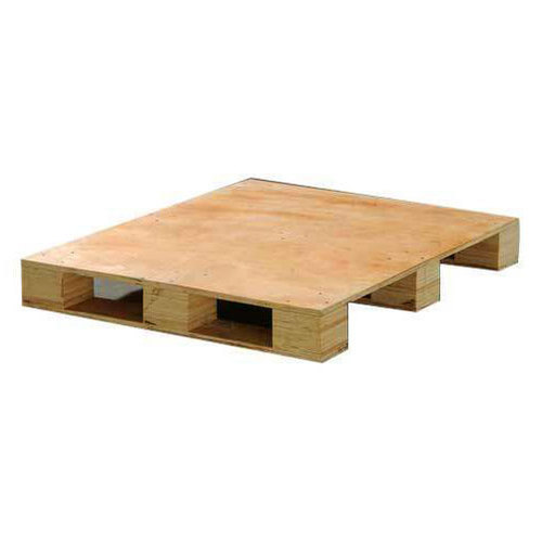 Rectangular Light Weight Wooden Pallet Mmv Industrial Packaging