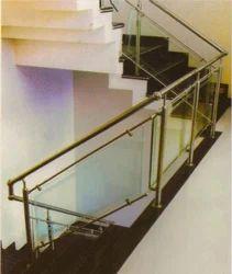 Glass And Steel Railing