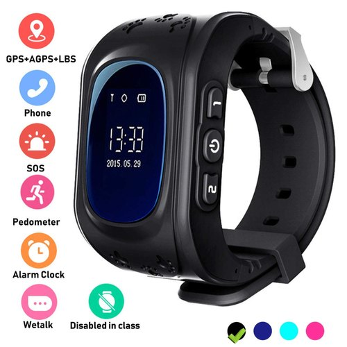 OMNiX Q50 Smart Watch for Kids LBS GPS Tracker for Children Wearable Screen  with SIM Card Slot at Rs 1000/unit | Kids Watches | ID: 21009330212