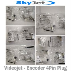 SkyJet - Videojet - Encoder 4 Pin Plug