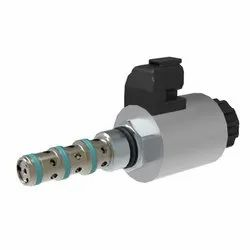 4/3 Proportional Directional Control Valve, Screw-in Cartridge design