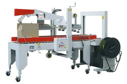 Single Phase Automatic Taping And Strapping Machine, Heat Sealing, Model Name/Number: Cp 103 Plus