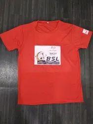 Nylon Printed T Shirt