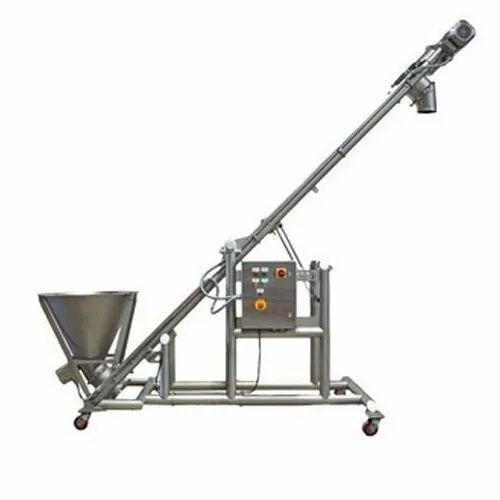 Shree Engineering Product Stainless Steel Flexible Screw Conveyor
