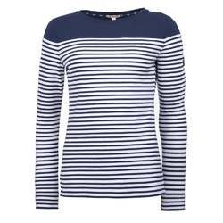 White And Blue Ladies Full Sleeves Top