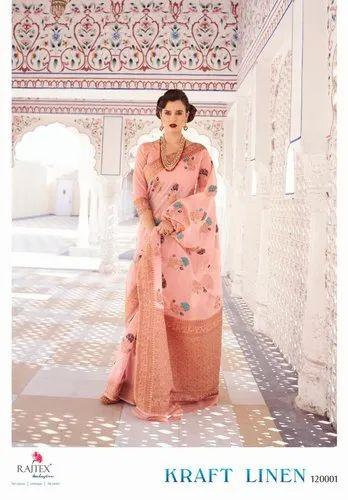 Fancy Silk Saree By Raj Tex