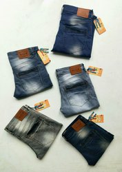 Slim Fit Casual Wear Kites Faded Mens Denim Jeans