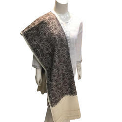 Wool Kashmiri Embroidery Shawl