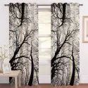 Chiffon Digital Print Vertical Curtains