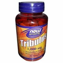 Tribulus 1000 Mg Standardized Extract Tablet, Packaging Size: 90 Tablet