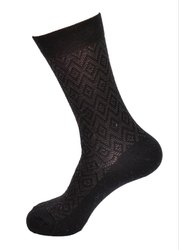 Ladies Black Long Socks