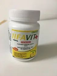 IIFAVIT PLUS Vitamin C, Zinc and Vitamin D3 Chewable Tablets