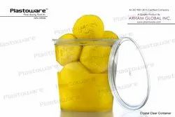 Plastoware Natural Disposable Food Containers, Size: 250ml