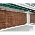 Vama Brown Bamboo Chick Curtain, Packaging Type: Roll, Thickness: 10 Mm To 25 Mm
