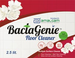 Quick dry floor cleaner