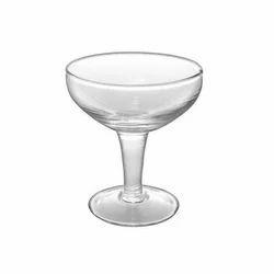 Vertex Transparent 50 ml Saucer Glass, For Restaurant