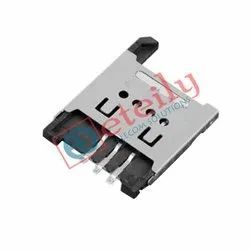 6P H 1.8 mm Pedal Lift Type Sim Card