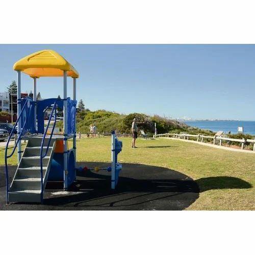 Watch Tower In Playground Slides