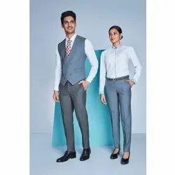 Plain Full Sleeves Staff Office Uniform
