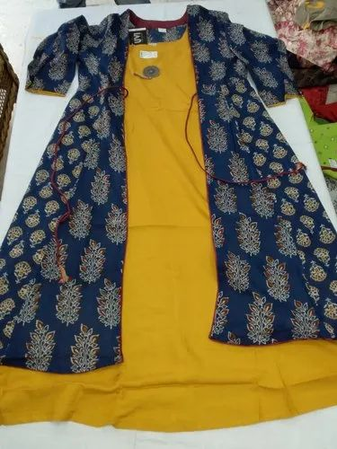 Cotton Printed Fancy Kurti