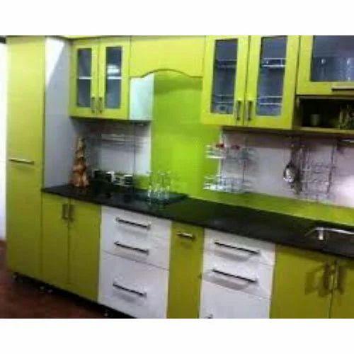 Laminated Modular Kitchen At Rs 1400 Square Feet: Laminated Modular Kitchen At Rs 650 /square Feet