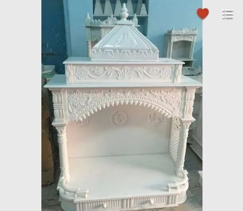 Temple Texas Traditional Home: Square Traditional Marble Temple, For Home, Rs 12000 /unit