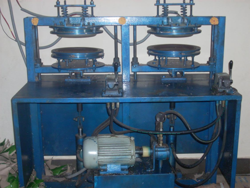 Hydraulic Double Die Paper Plate Making Machine & Hydraulic Double Die Paper Plate Making Machine at Rs 70000 /set ...