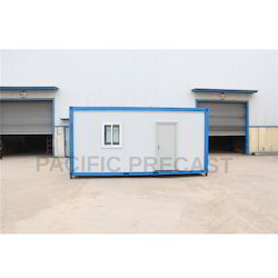 Eco Friendly Prefabricated Labour Quarters, Use House & Toilet