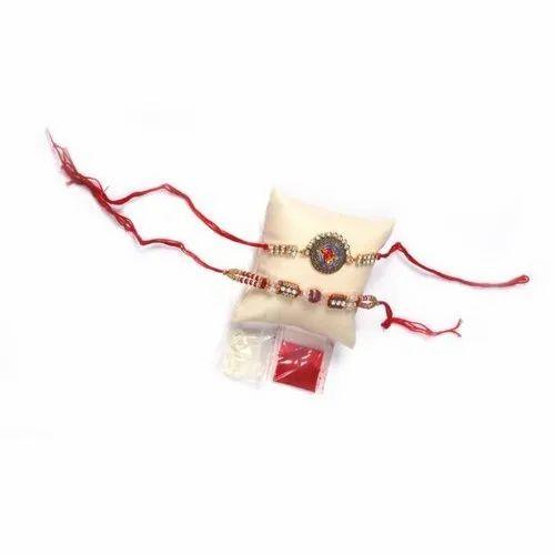 6-8 Inch Handmade Resham Rakhi, Packaging Type: Packet