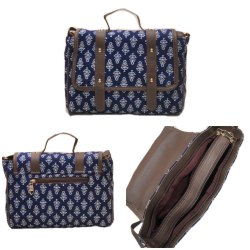 Canvas Handled Ikkat Bags, Size: 10