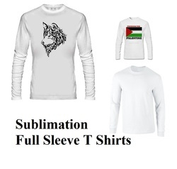 Sublimation Full Sleeve T Shirts