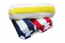 Geometrical Printed Velour Towel