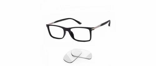 248842c428 Vincent Chase Black Gunmetal Full Rim Rectangle Medium Eyeglasses ...