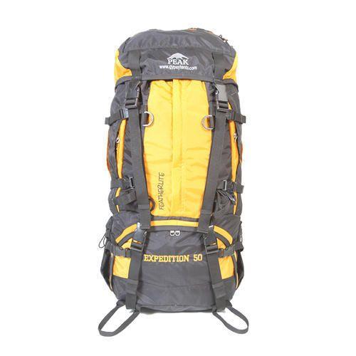 Dark Grey And Yellow Scout Trekking Haversack